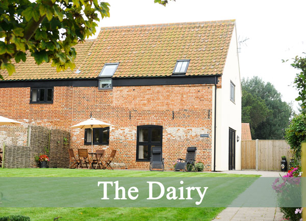 Lodge Farm Cottages - Dairy Cottage, Suffolk